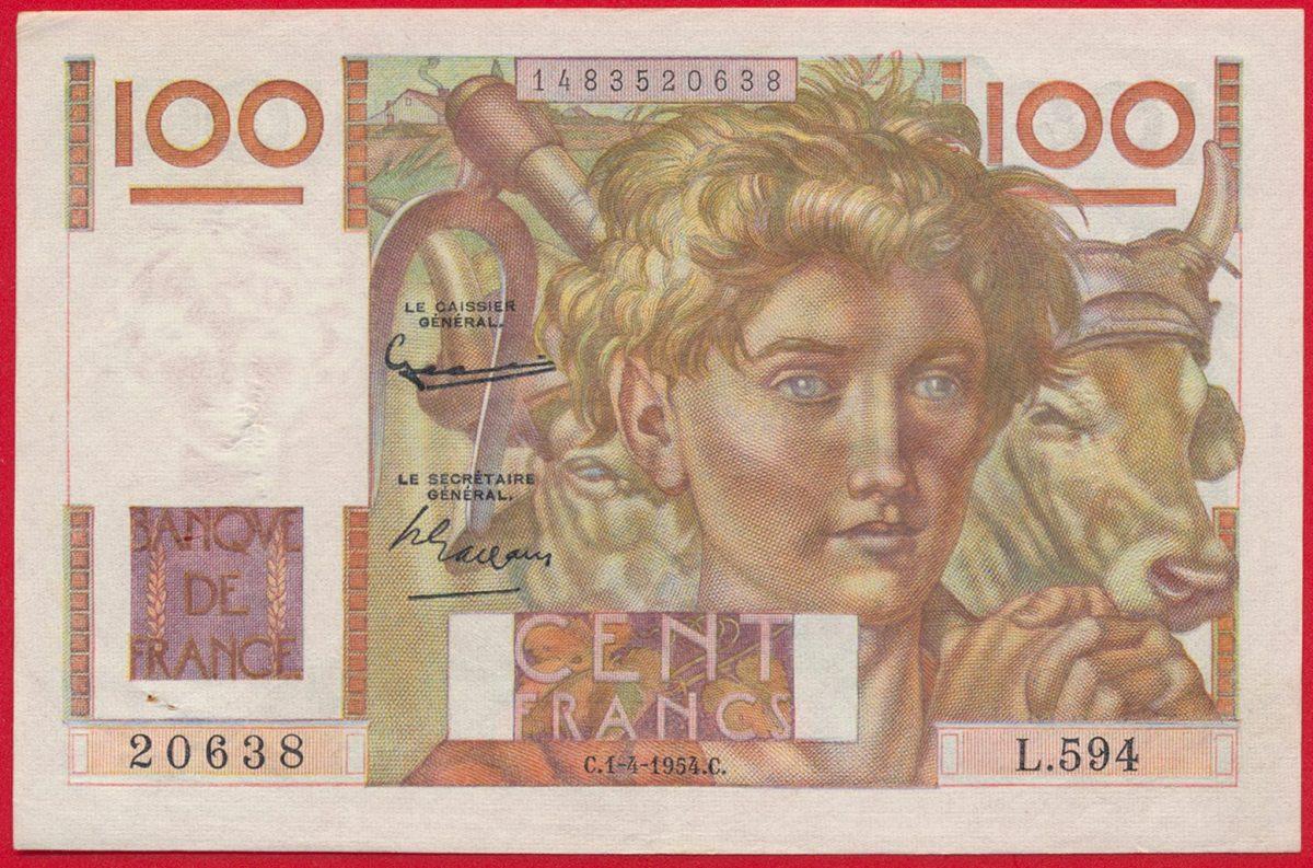 100-francs-paysan-1-4-1954-filigrane-inverse-0638