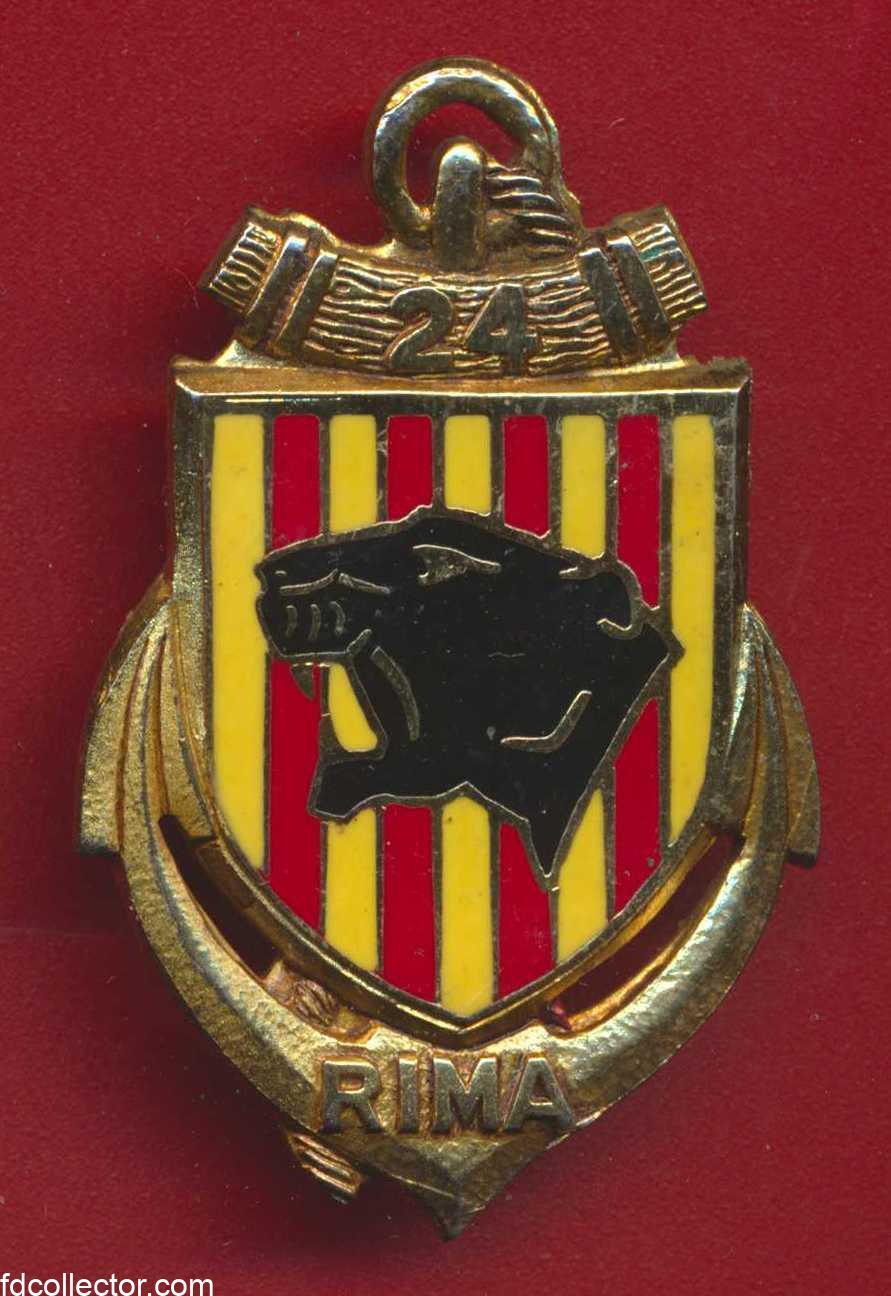 insigne-24-rima-regiment-infanterie-marine