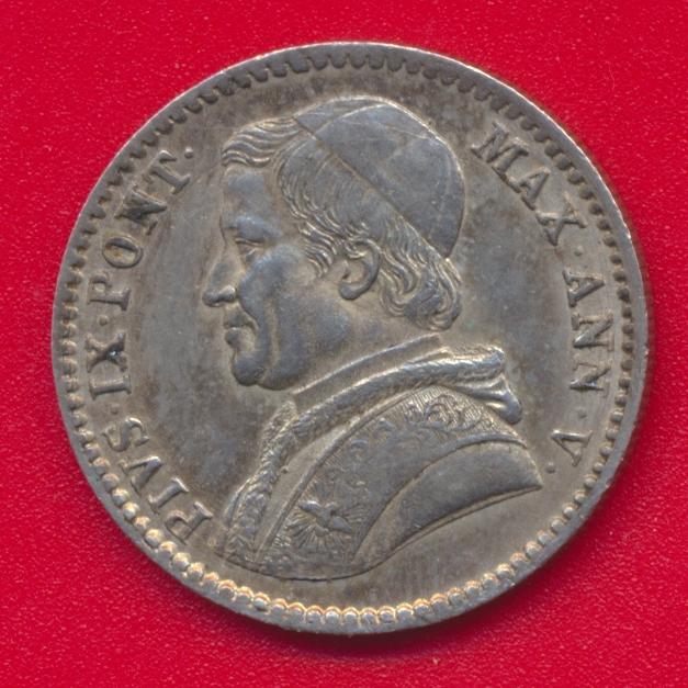 vatican-20-baiocchi-1850-r-an-v