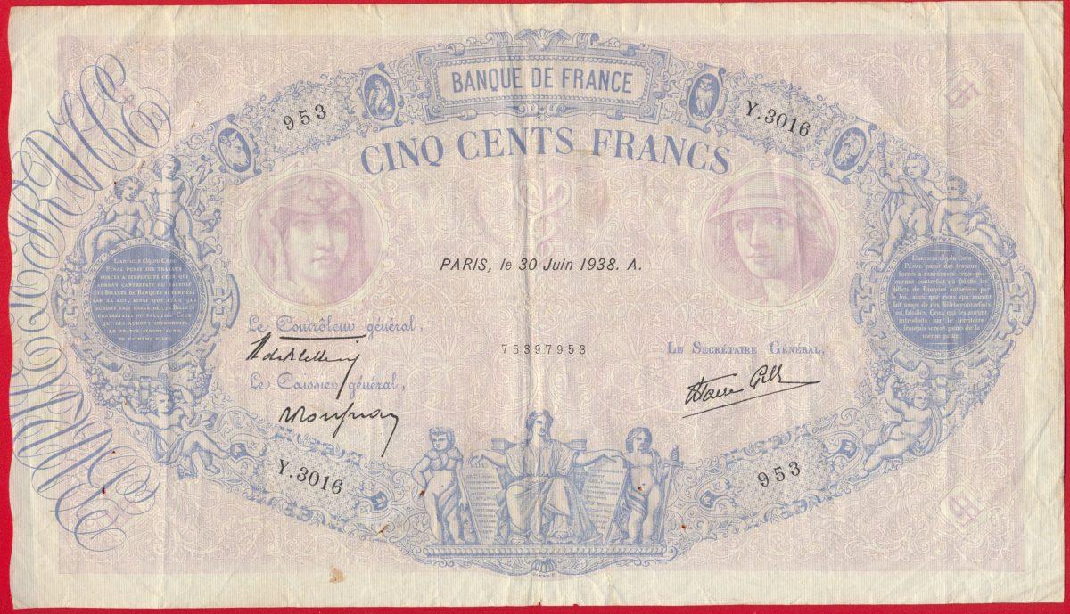 500-francs-bleu-rose-30-juin-1938-3016-vs