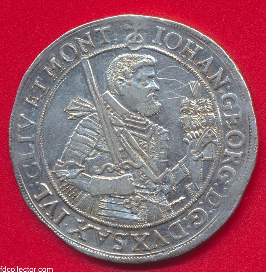 allemagne-saxe-albertine-thaler-johann-georg-1617