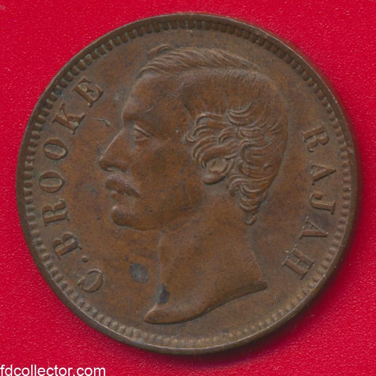 cent-sarawak-1889-brooke-rajah-vs
