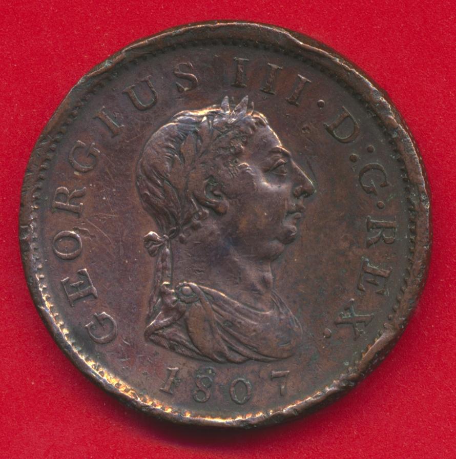 grande-bretagne-penny-georges-iii-georgius-1807-britannia
