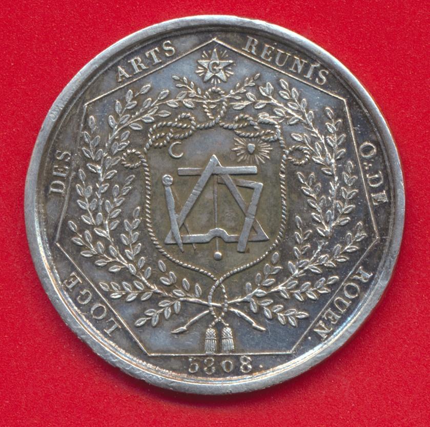 jeton-franc-macon-maconnique-rouen-loge-arts-reunis-1808-5808