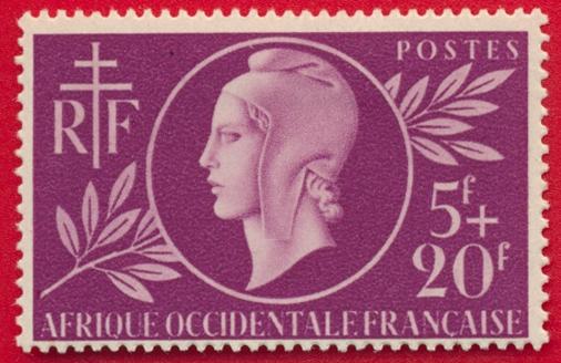 afrique-occidentale-francaise-entraide-20-francs-5-1944