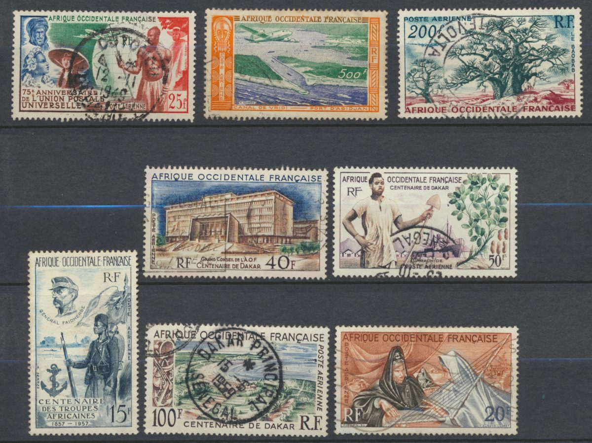 afrique-occidentale-francaise-lot-poste-aerienne