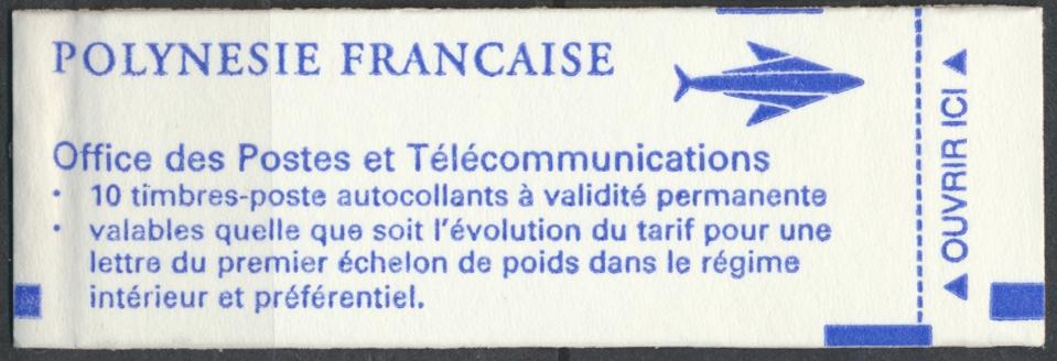 carnet-10-timbres-polynesie-francaise