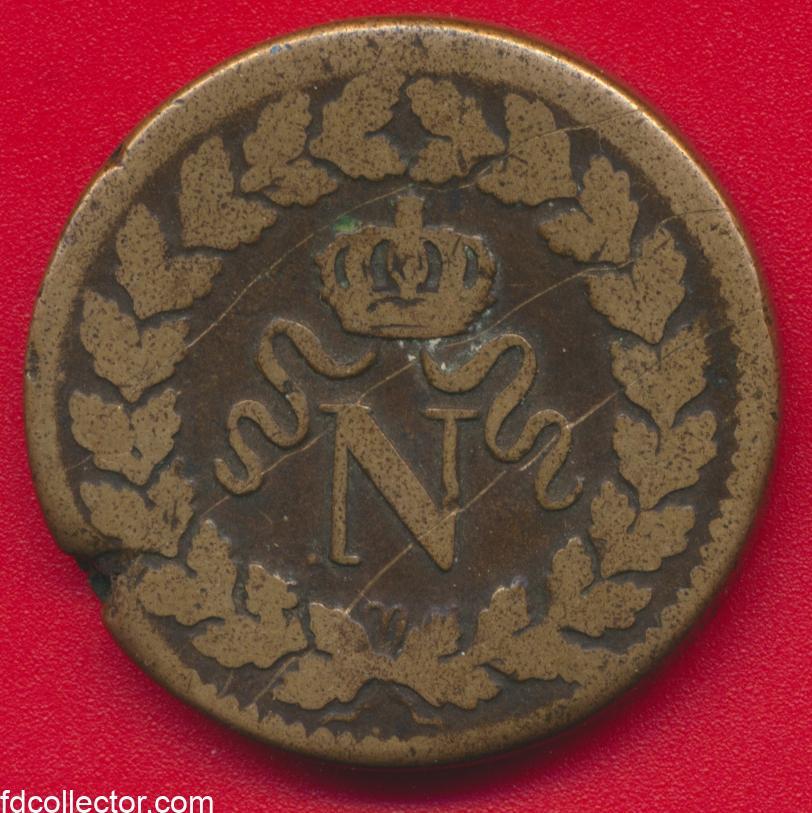 decime-blocus-strasbourg-1814-bb-napoleon