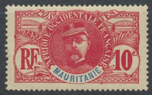 mauritanie-10-centimes-general-faidherbe-1906