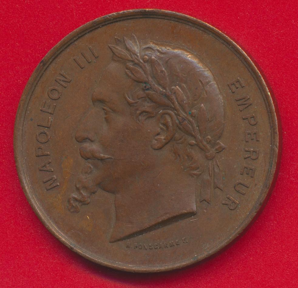napoleon-medaille-exposition-universelle-1867-paris-empereur