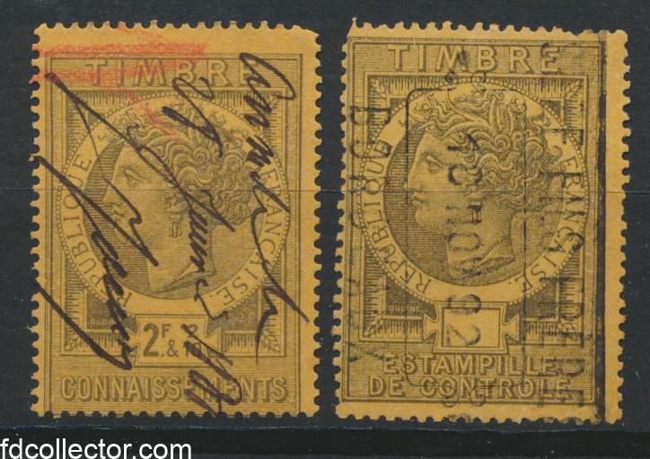 timbres-fiscaux-fiscal-connaissement-estampille-controle