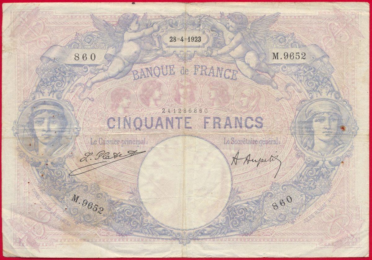 50-francs-cinquante-28-4-1923-9652