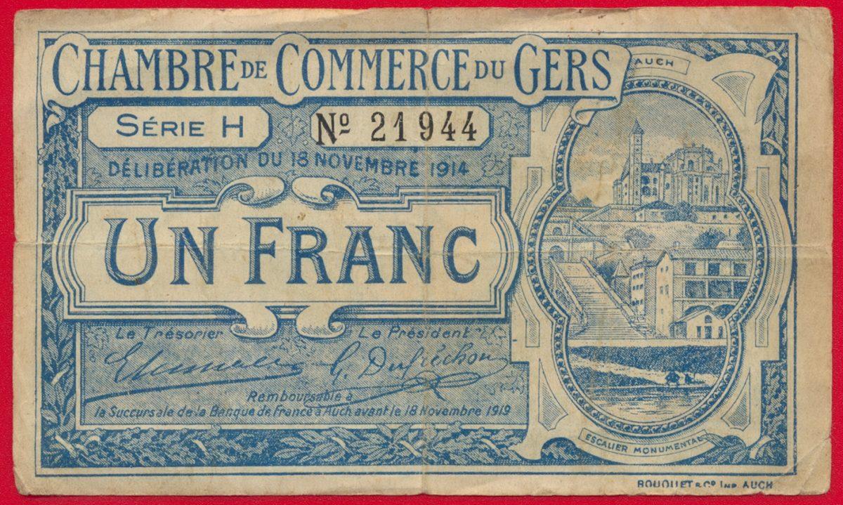 billet-necessite-gers-franc-1914-1944-chambre-commerce-gers