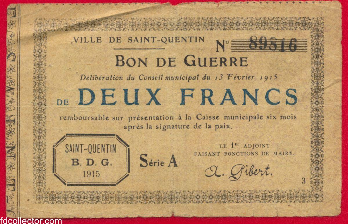 bon-guerre-saint-quentin-2-franc-caisse-municipale-1915