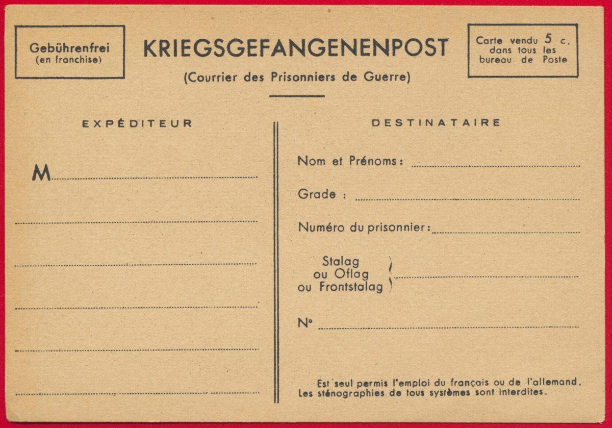 carte-prisonniers-guerre-kriegsgefangenenpost-courrier
