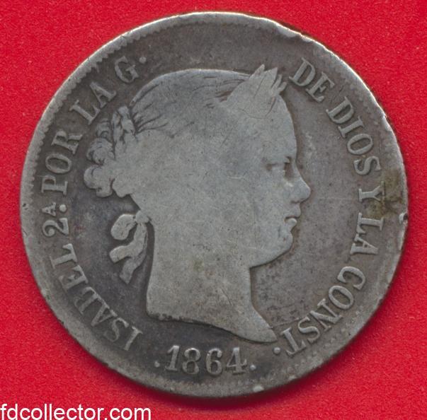 espagne-isabel-isabelle-40-centimos-1864-espana