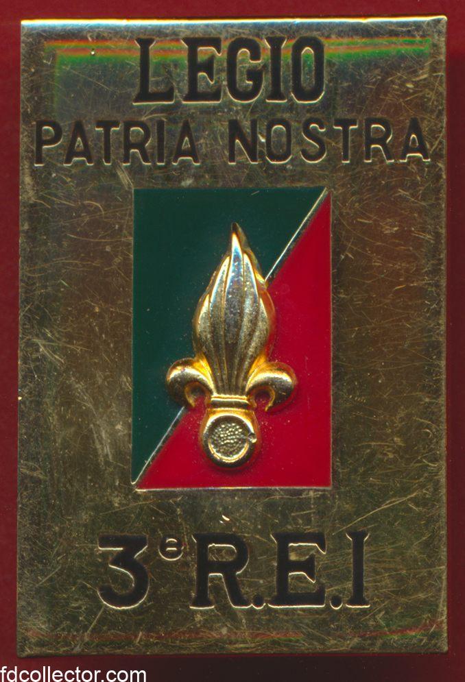 insigne-legion-etrangere-3-regiment-etranger-rei