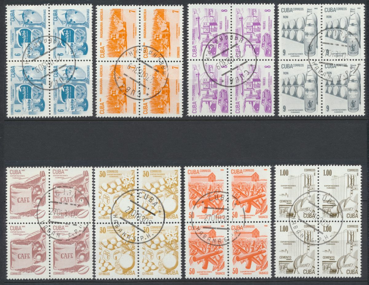 lot-timbres-stamps-cuba