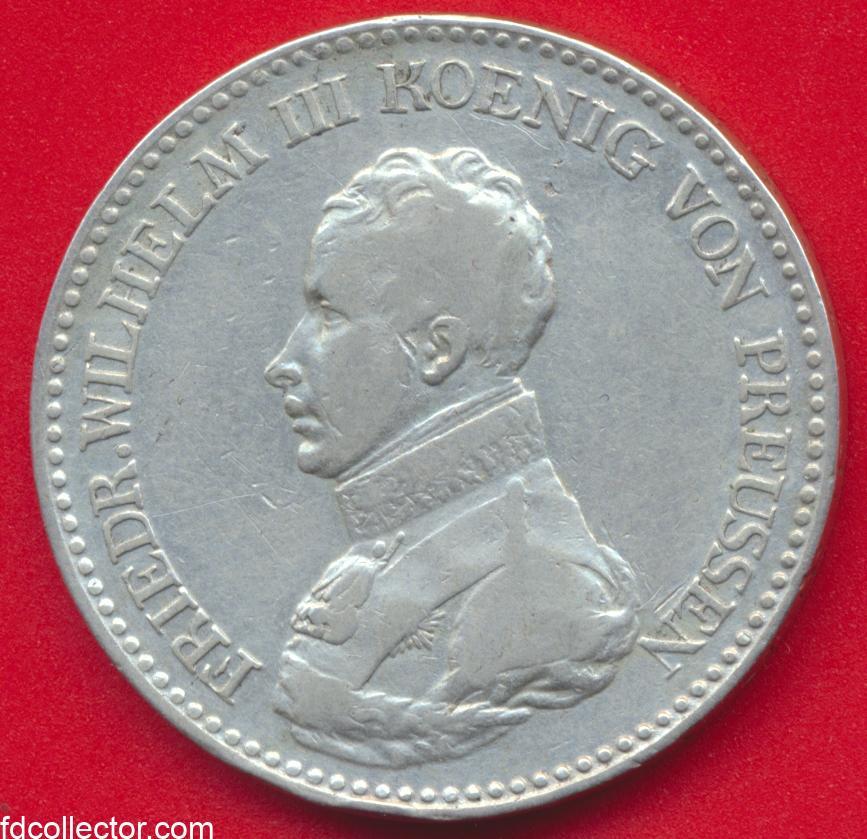 allemagne-prusse-thaler-1818-friedrich-wilhelm