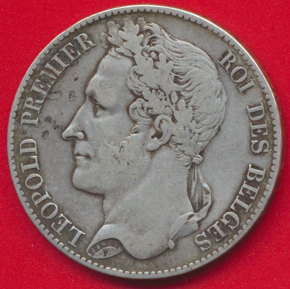belgique-5-francs-1849-leopold-premier