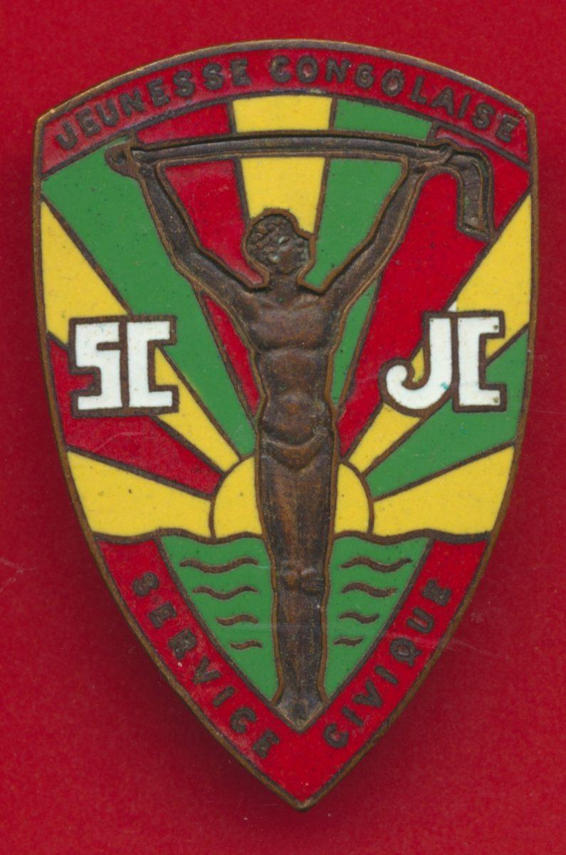 insigne-congo-jeunesse-civique-service-congolaise