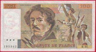 100-francs-delacroix-1985-5342