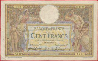 100-francs-merson-24-10-1914
