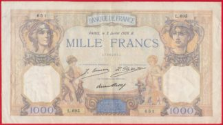 1000-francs-3-juillet-1928-ceres-mercure-651