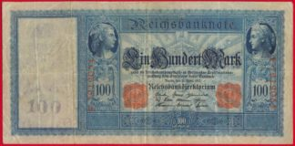 allemagne-100-mark-21-avri-april-1910-9054