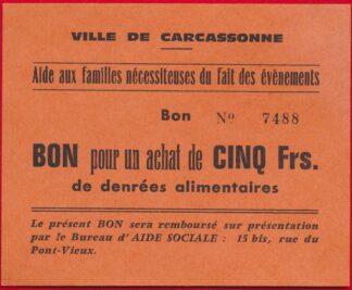 bon-carton-carcassonne-achat-denrees-alimentaires-cinq-francs