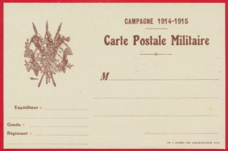 carte-postale-militaire-campagne-1914-1915