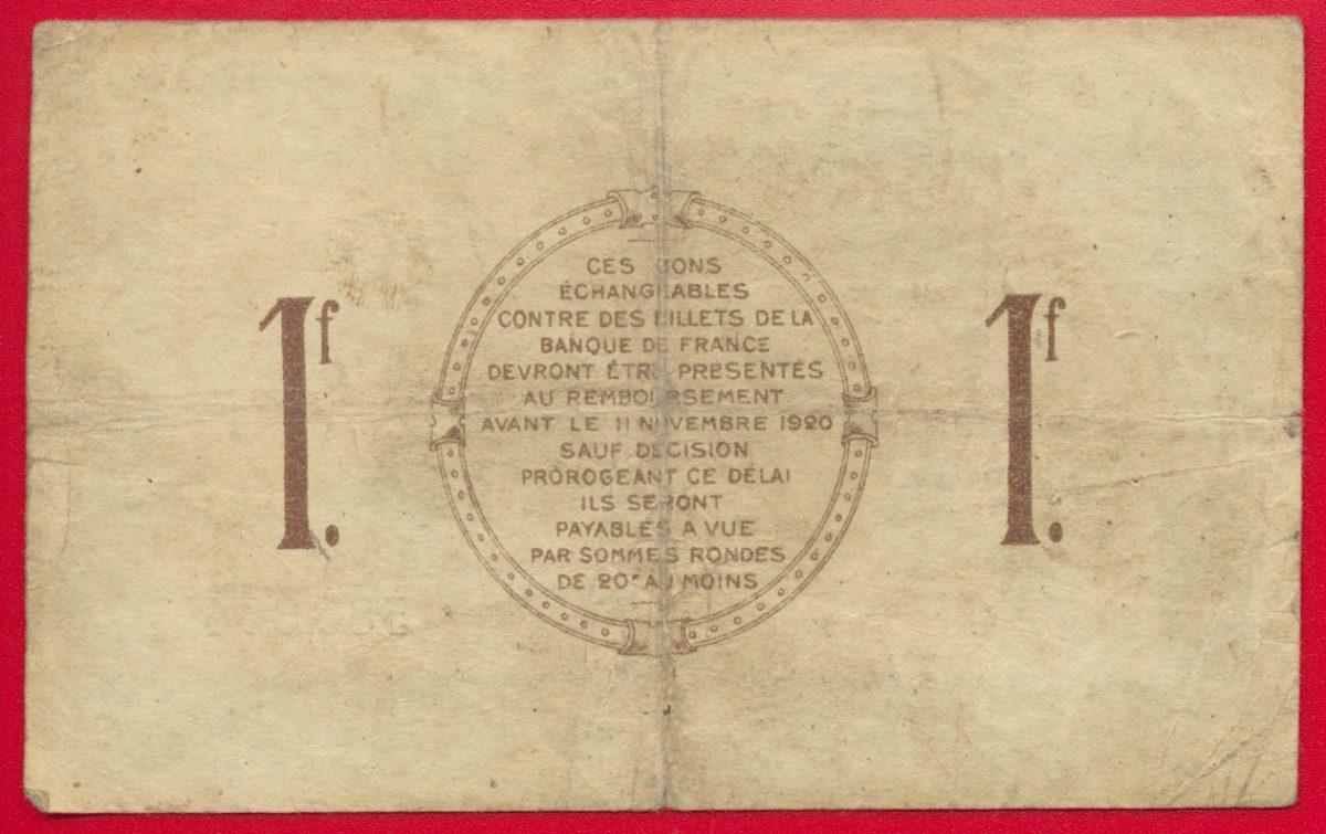 Saint dizier un franc 1916 fdcollector - Chambre de commerce 92 ...