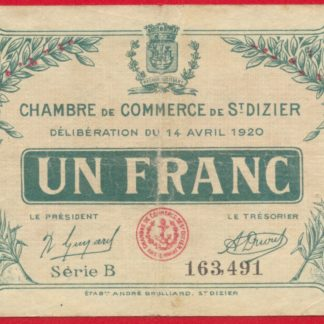 Roanne 50 centimes 1917 fdcollector for Chambre de commerce de troyes