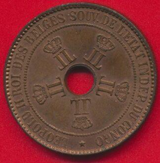 congo-belge-10-centimes-1888-vs