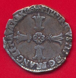 henri-4-iv-quart-ecu-argent-angers-1605-f-vs