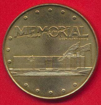 medaille-souvenir-monnaie-paris-memorial-caen-1999