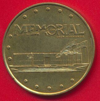 medaille-souvenir-monnaie-paris-memorial-caen-esplanade-1997