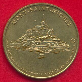 medaille-souvenir-monnaie-paris-mont-saint-michel-1998