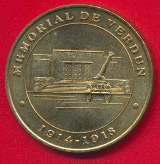medaille-souvenir-monnaie-verdun-memorial-2000