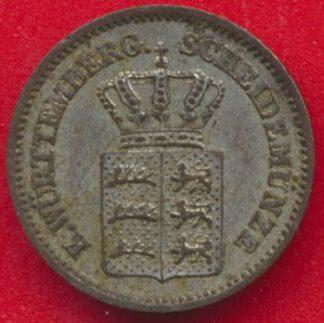 allemagne-wurtemberg-kreuzer-1869-vs