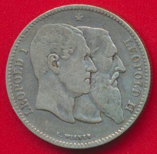 belgique-2-francs-1830-1880-leopold-vs