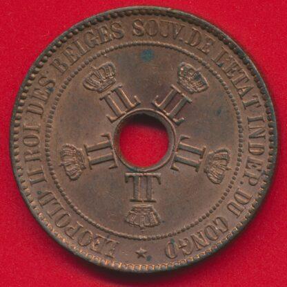 congo-belge-etat-independant-10-centimes-1888-leopold