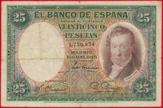 espagne-25-veinticinco-pesetas-1931-0834