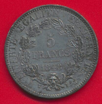 france-essai-5-francs-1848-caunois-vs