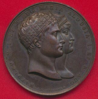 medaille-napoleon-1810-saevum-procul-martem-felix-teda-relegat-marie-louise-avers
