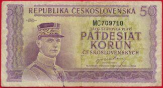 tchecoslovaquie-50-korun-nd-9710
