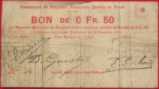 50-centimes-tergnier-fargniers-quessy-vouel-somme-1914