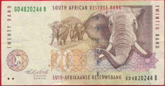 afrique-sud-south-afrika-african-reserve-bank-20-rand-0244