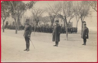 carte-photo-legion-etrangere-bel-abbes-1923-inspection-general-lamotte-1er-etranger