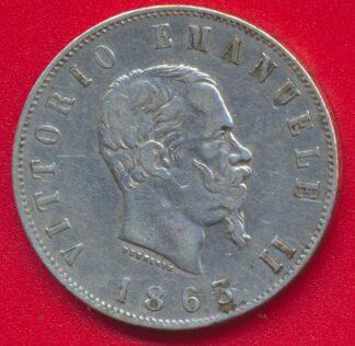 italie-2-lire-1863-umberto-argent